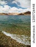 pangong lake in ladakh  north... | Shutterstock . vector #1200726448