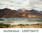 pangong lake in ladakh  north... | Shutterstock . vector #1200726472