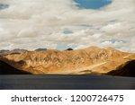 pangong lake in ladakh  north... | Shutterstock . vector #1200726475