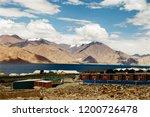 pangong lake in ladakh  north... | Shutterstock . vector #1200726478