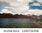 pangong lake in ladakh  north... | Shutterstock . vector #1200726508