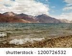 pangong lake in ladakh  north... | Shutterstock . vector #1200726532
