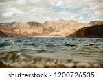 pangong lake in ladakh  north... | Shutterstock . vector #1200726535