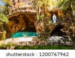 pohsarang  kediri  indonesia | Shutterstock . vector #1200767962