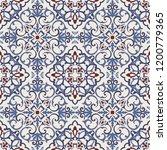 seamless damask pattern....   Shutterstock .eps vector #1200779365