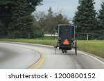 Small photo of Amish country buggies