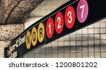 new york city. manhattan subway ... | Shutterstock . vector #1200801202