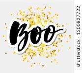 slogan boo phrase graphic...   Shutterstock .eps vector #1200827722
