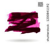 brush stroke and texture.... | Shutterstock .eps vector #1200841192