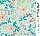 Botanical Floral Line Art