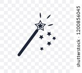 magic wand transparent icon.... | Shutterstock .eps vector #1200856045