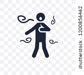 scared human transparent icon....   Shutterstock .eps vector #1200856462