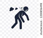 drunk human transparent icon.... | Shutterstock .eps vector #1200856498