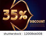 35  off discount promotion sale ...   Shutterstock .eps vector #1200866008