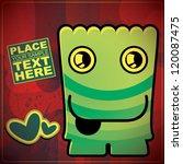 monster | Shutterstock .eps vector #120087475