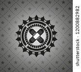 crossed bandage plaster icon... | Shutterstock .eps vector #1200882982