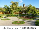 landscape design and its... | Shutterstock . vector #1200907375