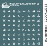 industrial and factory vector... | Shutterstock .eps vector #1200912388