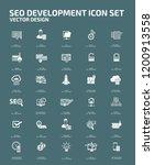 search engine optimisation... | Shutterstock .eps vector #1200913558