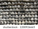railroad concrete sleepers... | Shutterstock . vector #1200926665