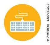 keyboard vector icon   Shutterstock .eps vector #1200931078