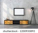 horizontal black wooden poster... | Shutterstock . vector #1200933892