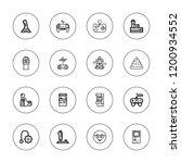 controller icon set. collection ... | Shutterstock .eps vector #1200934552