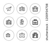 voyage icon set. collection of...   Shutterstock .eps vector #1200934708