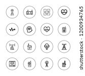 frequency icon set. collection... | Shutterstock .eps vector #1200934765