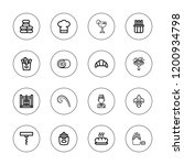french icon set. collection of...   Shutterstock .eps vector #1200934798
