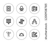 collection icon set. collection ... | Shutterstock .eps vector #1200938785