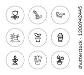 stem icon set. collection of 9... | Shutterstock .eps vector #1200942445