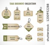 vector stickers  price tag ...   Shutterstock .eps vector #1200952288