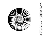 hypnosis spiral  concept for... | Shutterstock .eps vector #1200958642