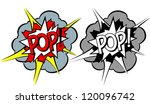 cartoon explosion pop art style | Shutterstock .eps vector #120096742