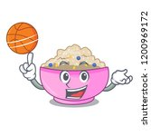 with basketball character a... | Shutterstock .eps vector #1200969172