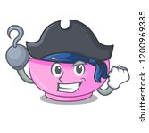 pirate character a bowl of... | Shutterstock .eps vector #1200969385