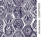 vintage seamless pattern in...   Shutterstock .eps vector #1200970555