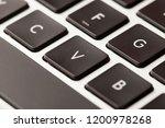 black computer keyboard | Shutterstock . vector #1200978268