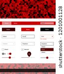 dark red vector material design ...