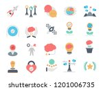 career advancement flat vector... | Shutterstock .eps vector #1201006735