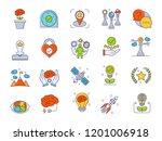 career advancement filled... | Shutterstock .eps vector #1201006918