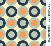 vector illustration of sixties... | Shutterstock .eps vector #1201054252