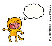 cartoon funny cat | Shutterstock .eps vector #120106186