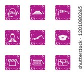 specialist support icons set....   Shutterstock . vector #1201080265
