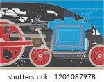 train fragment   bottom of the ...   Shutterstock .eps vector #1201087978