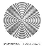 concentric circle elements.... | Shutterstock .eps vector #1201102678