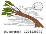 an image of a hurricane windy...   Shutterstock .eps vector #1201135372