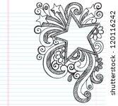 star frame border back to... | Shutterstock .eps vector #120116242