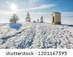 calvary in nitra city  slovak... | Shutterstock . vector #1201167595